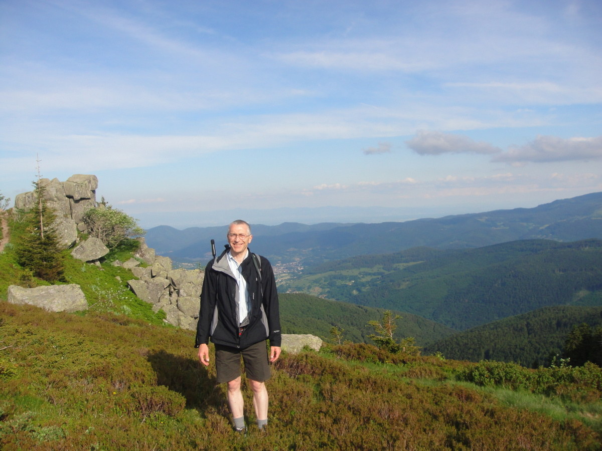 Image: Dave in The Vosges